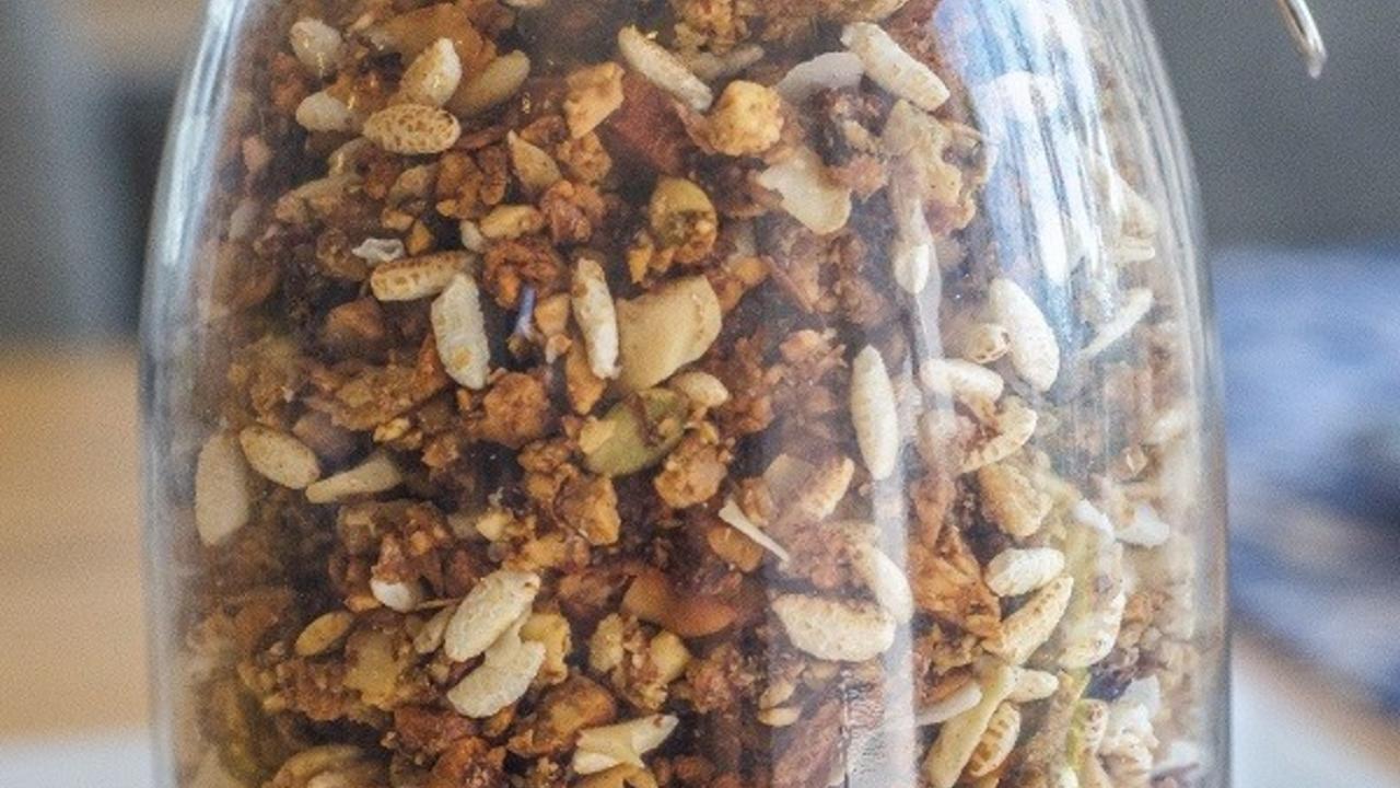 Gluten Free Nutty Granola