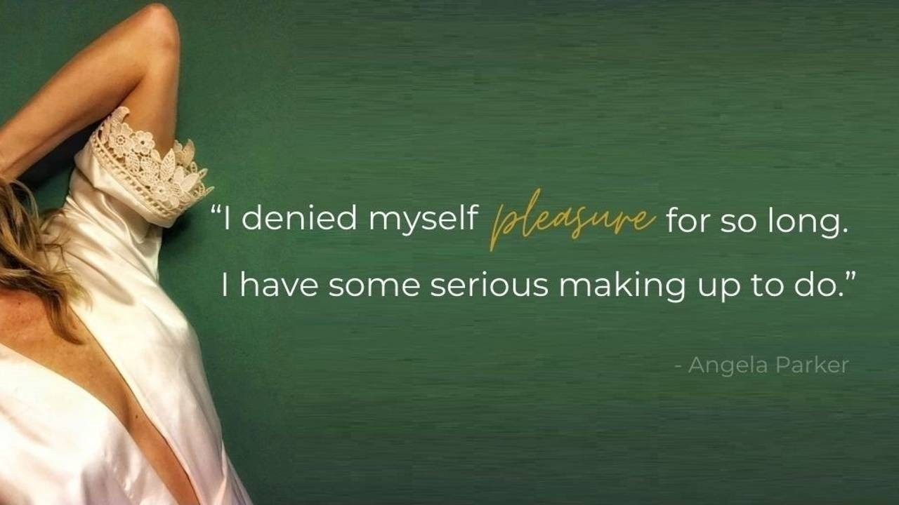 Angela Parker Pleasure quote Journaling