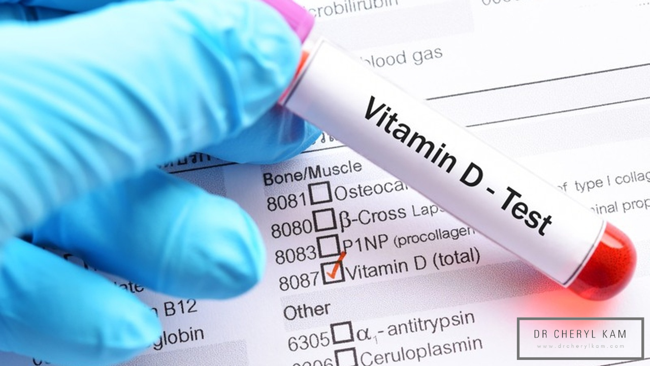 Dr Cheryl Kam - Blog - Functional medicine coach - Singapore - Have you had your testing done yet? Why are you waiting? Vitamin D Levels, Nutrient Deficiency, Vitamin D Testing
