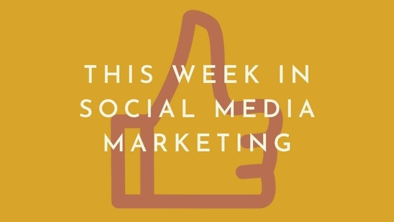 This Week in Social Media Marketing: Everyone Has a Story Feature