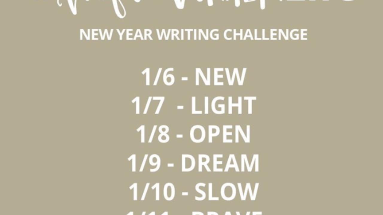 #hopewriterlife Writing Challenge