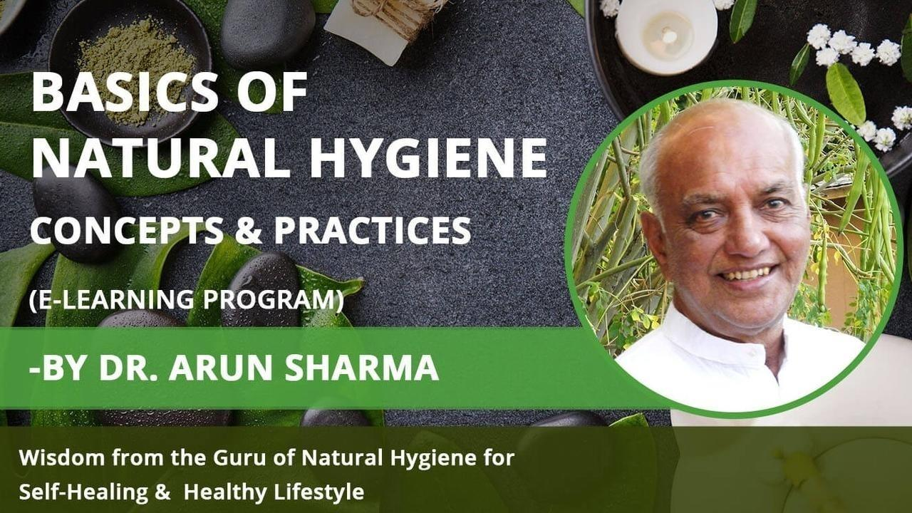 natural hygiene course - concepts & therapies