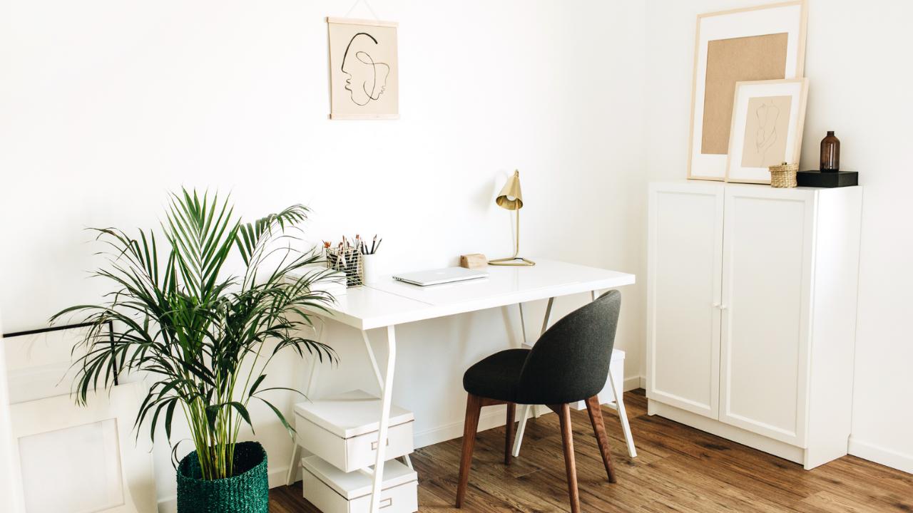 Inspiring home office makeover