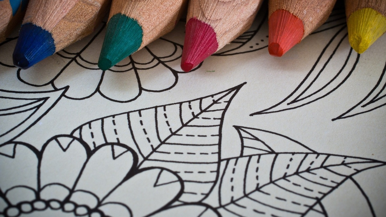 Art therapy coloring book for adults