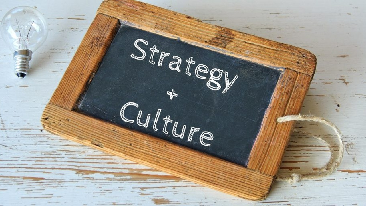 How does strategy impact organisational culture?