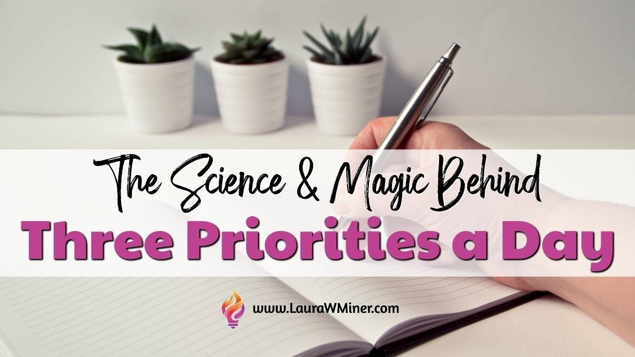 The Science and Psychology Behind Three Priorities a Day Laura W. Miner