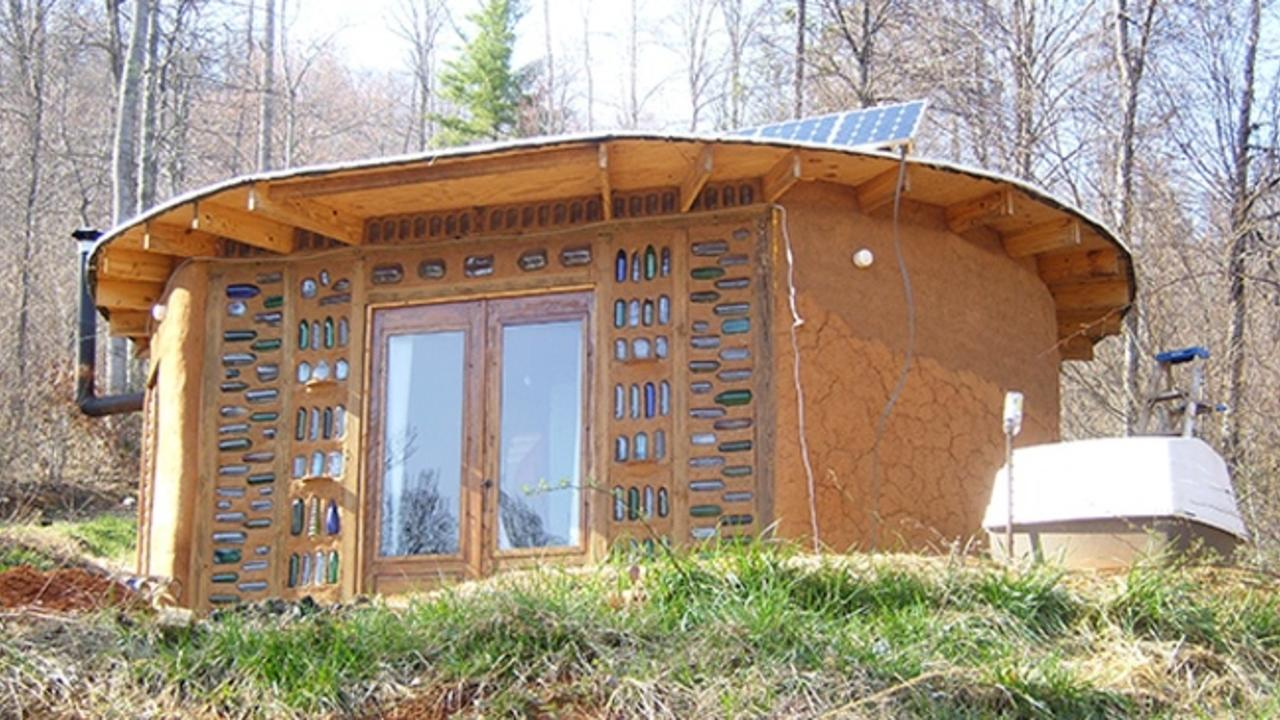 Off the Hamster Wheel: Morgan's $5000 Earthbag House