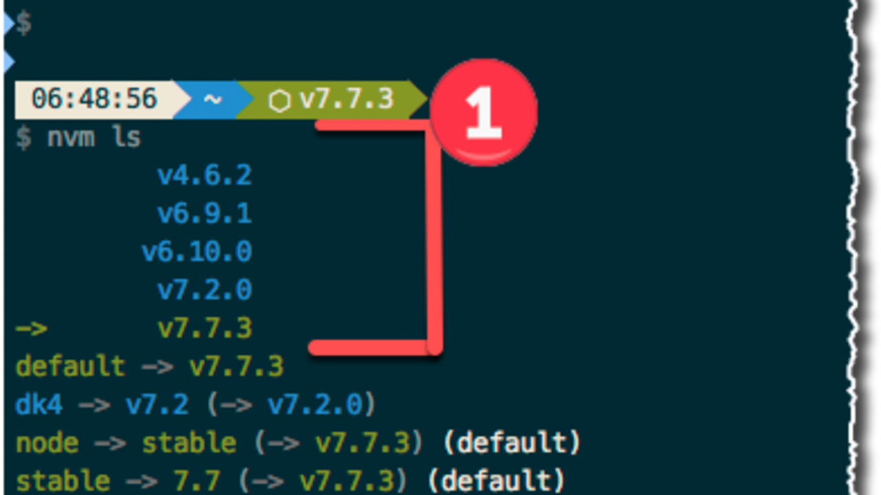 install node version 8 using nvm