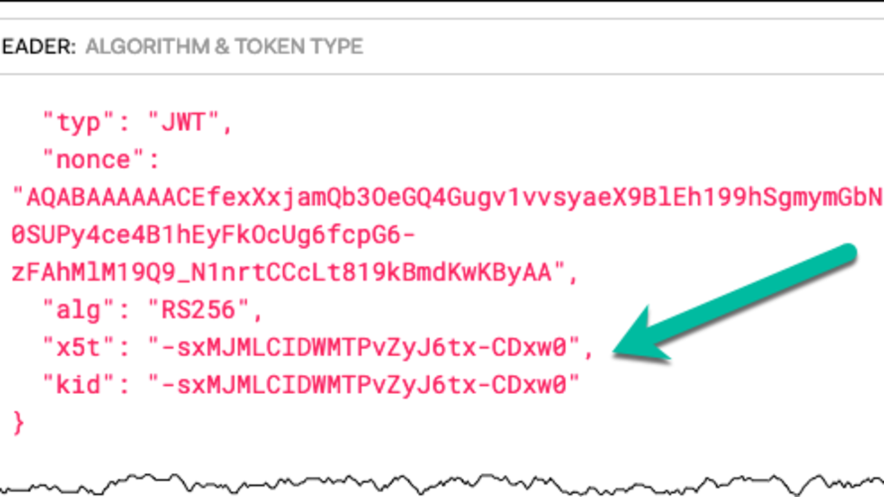 Validating Azure AD Generated OAuth Tokens