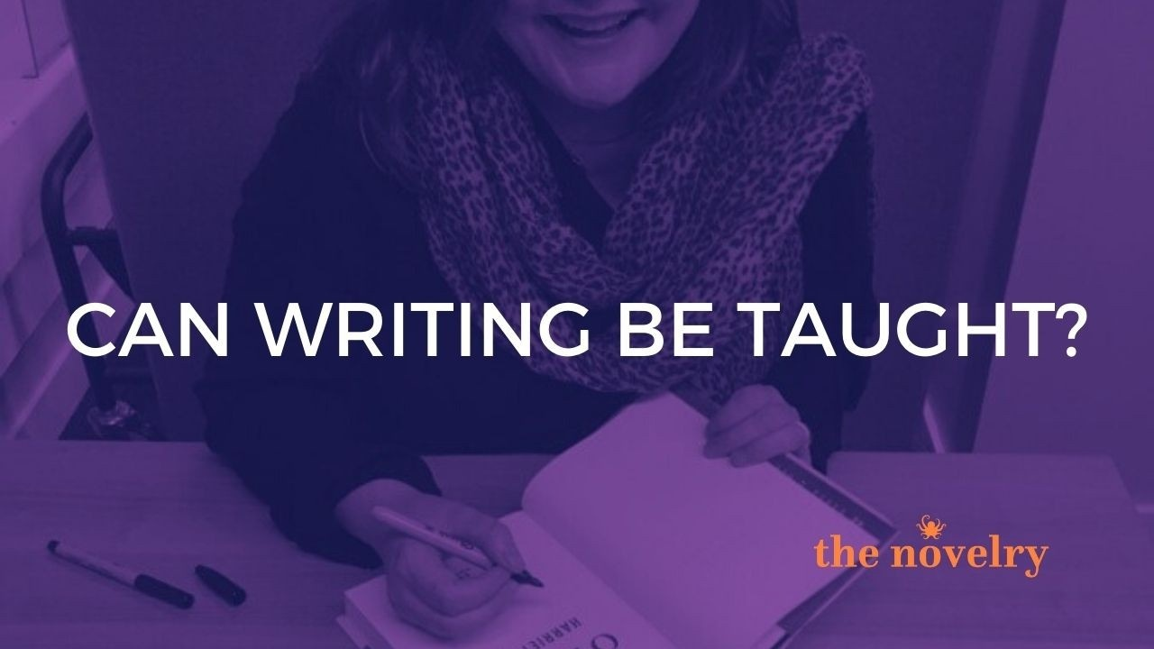 can creative writing be taught?