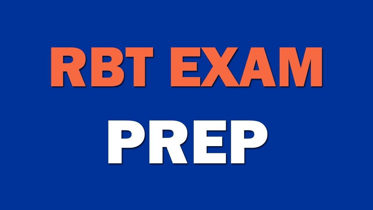 rbt test prep