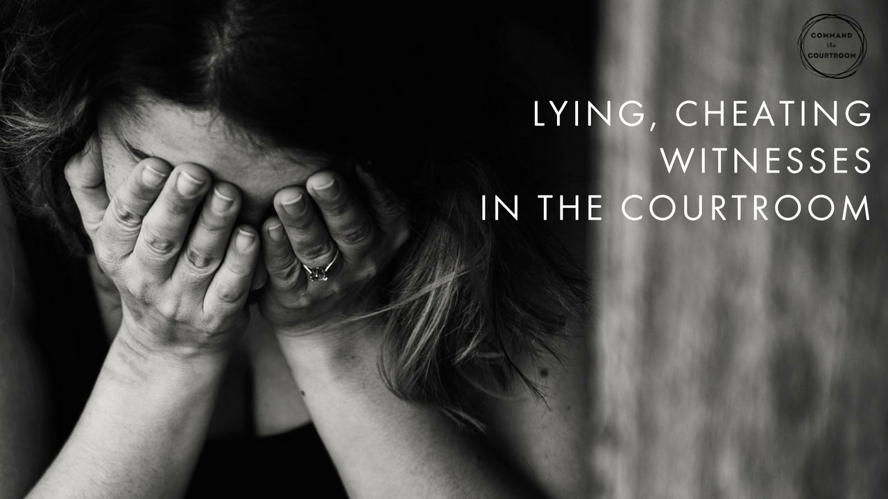 Don't Be a Lying, Cheating Witness in the Child Custody
