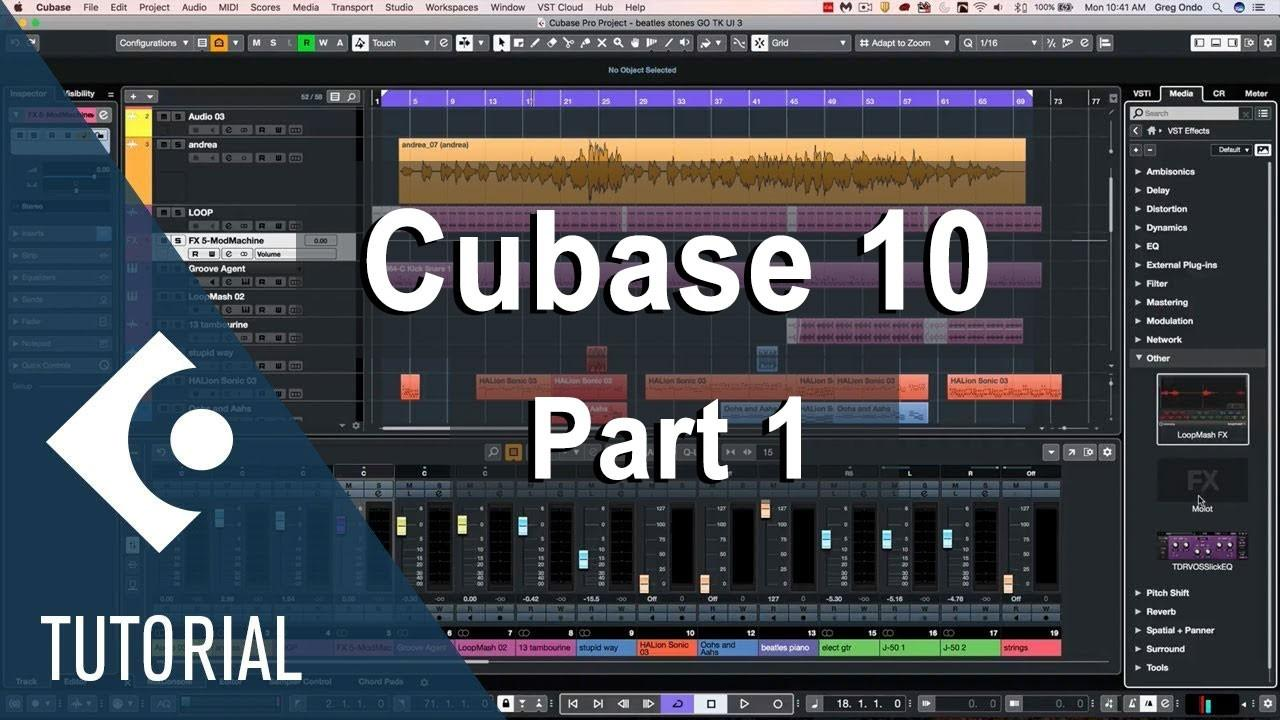 Cubase 10 Best New Features Explained - Part 1