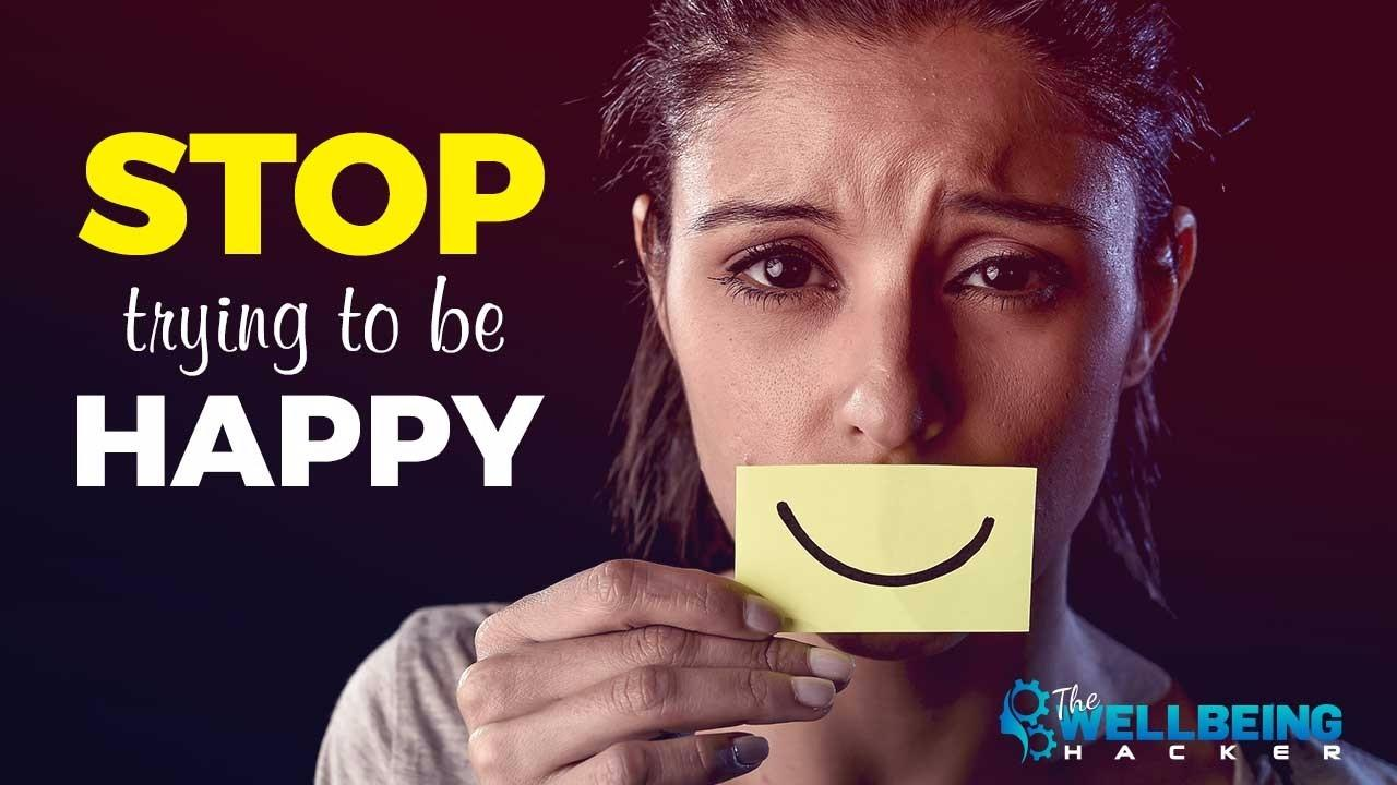Does Trying to Be Happy Make Us Unhappy photo