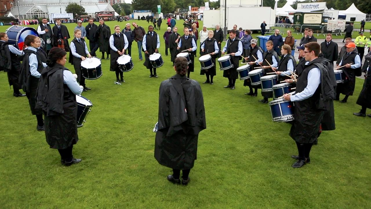 What Is Scottish Pipe Band Drumming 1 Set Drum A Fresh Look And New Love Of