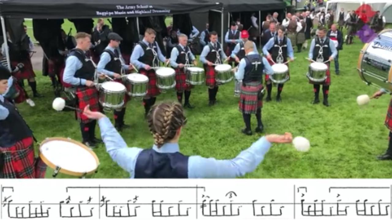 FMM Drum Corps 2019 Fri. Medley (Strathspey, Reel) WPBC