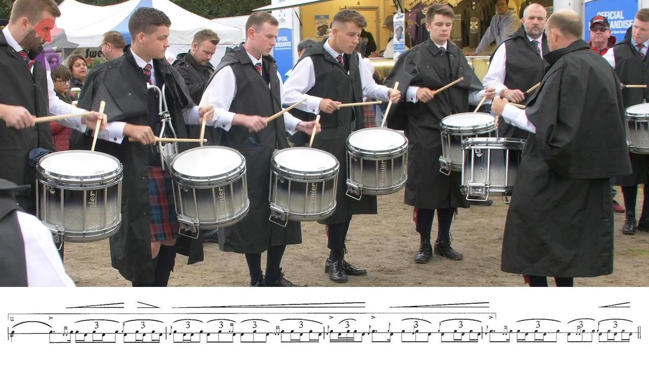 Fife Police Drum Corps Finals MSR 2018 WPBC