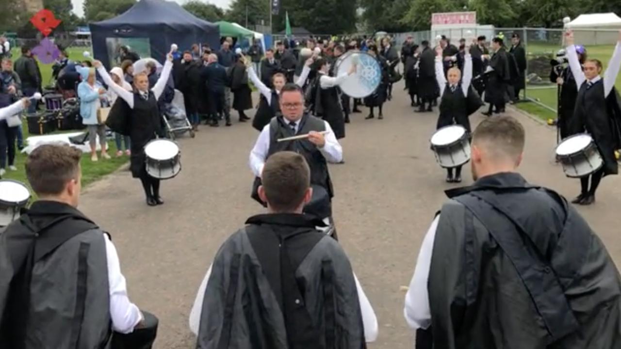 Inveraray & District Pipe Band Drum Corps 2018 WPBC