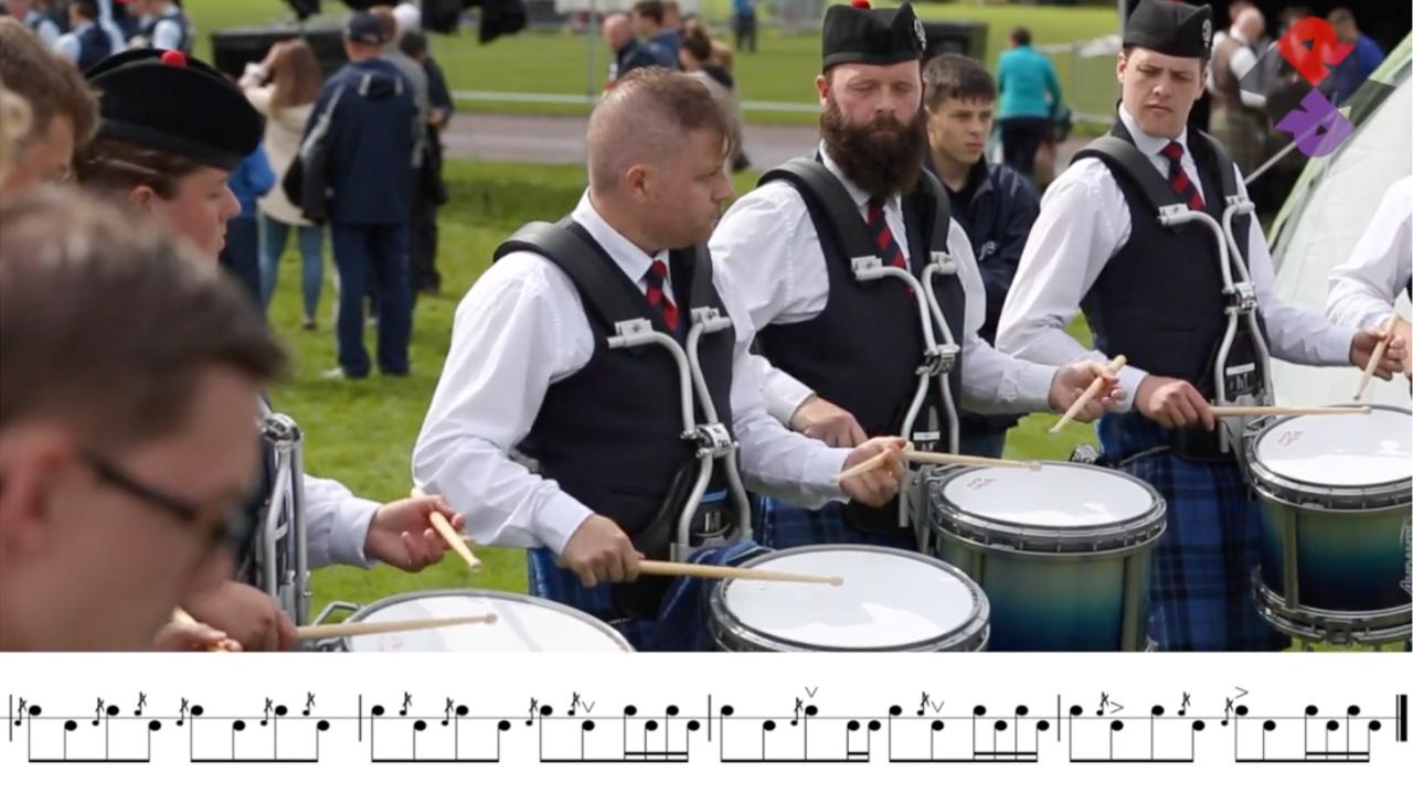 Johnstone Pipe Band Fri. Medley Reels Worlds 2019