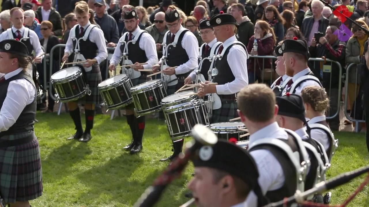 ScottishPower Pipe Band 2019 Medley WPBC