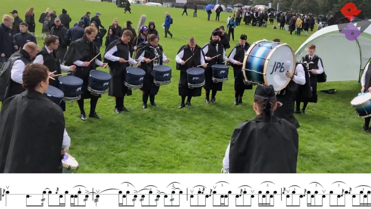 Johnstone Drum Corps Fri. MSR 2019 WPBC