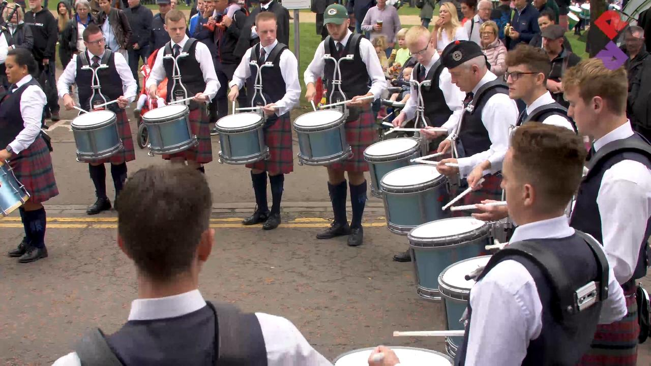 Vale of Atholl Drum Corps Medley WPBC 2018