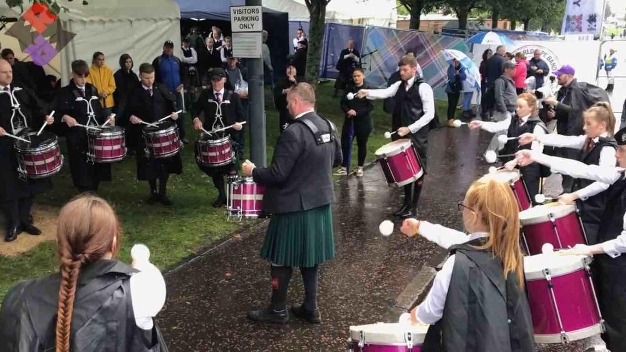Stephen Creighton SLOT Drum Corps MSR 2019 Worlds