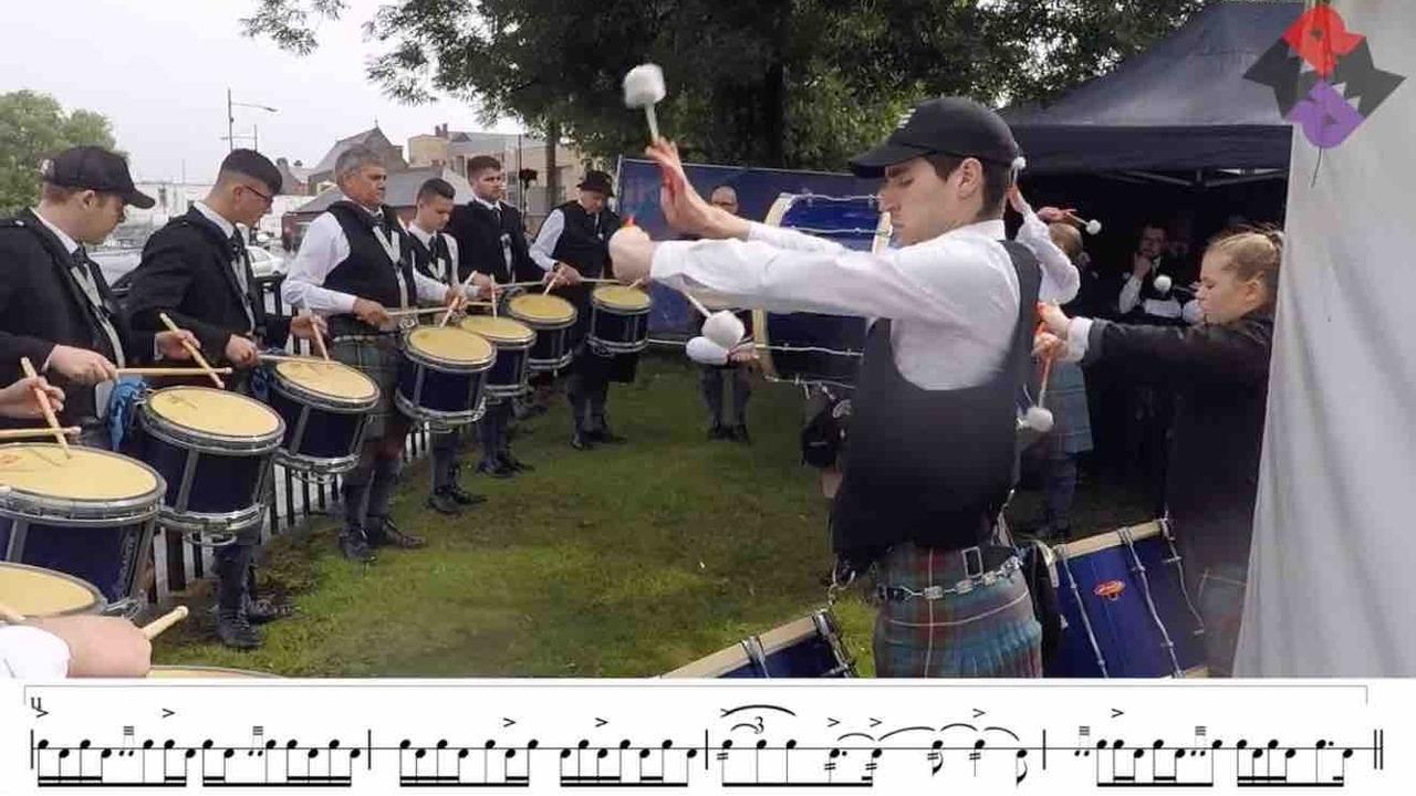 Boghall Drum Corps MSR 2019 WPBC