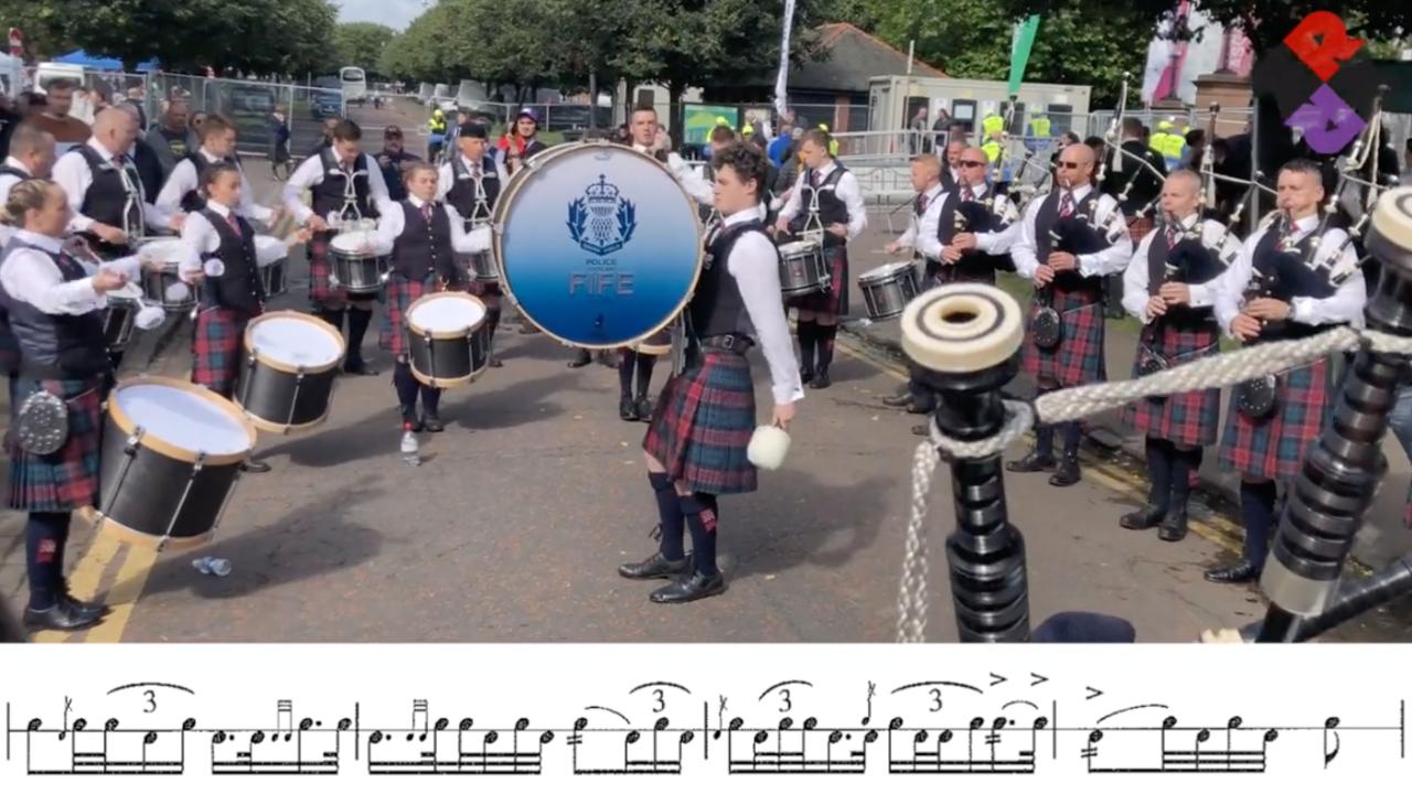 Police Scotland Fife Pipe Band Full Sat. MSR 2019 WPBC