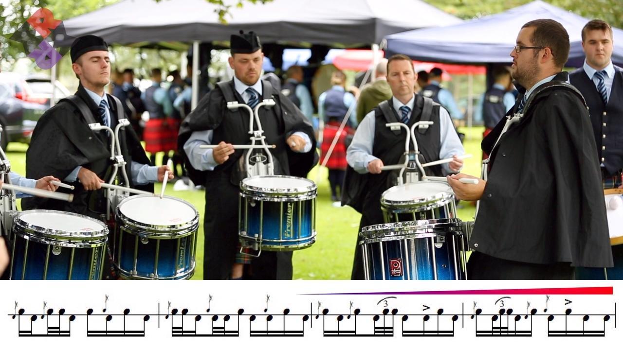 Ravara Drum Corps Medley 2019 Moira Games