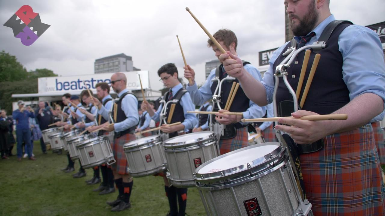 Shotts Drum Fanfare Worlds 2019