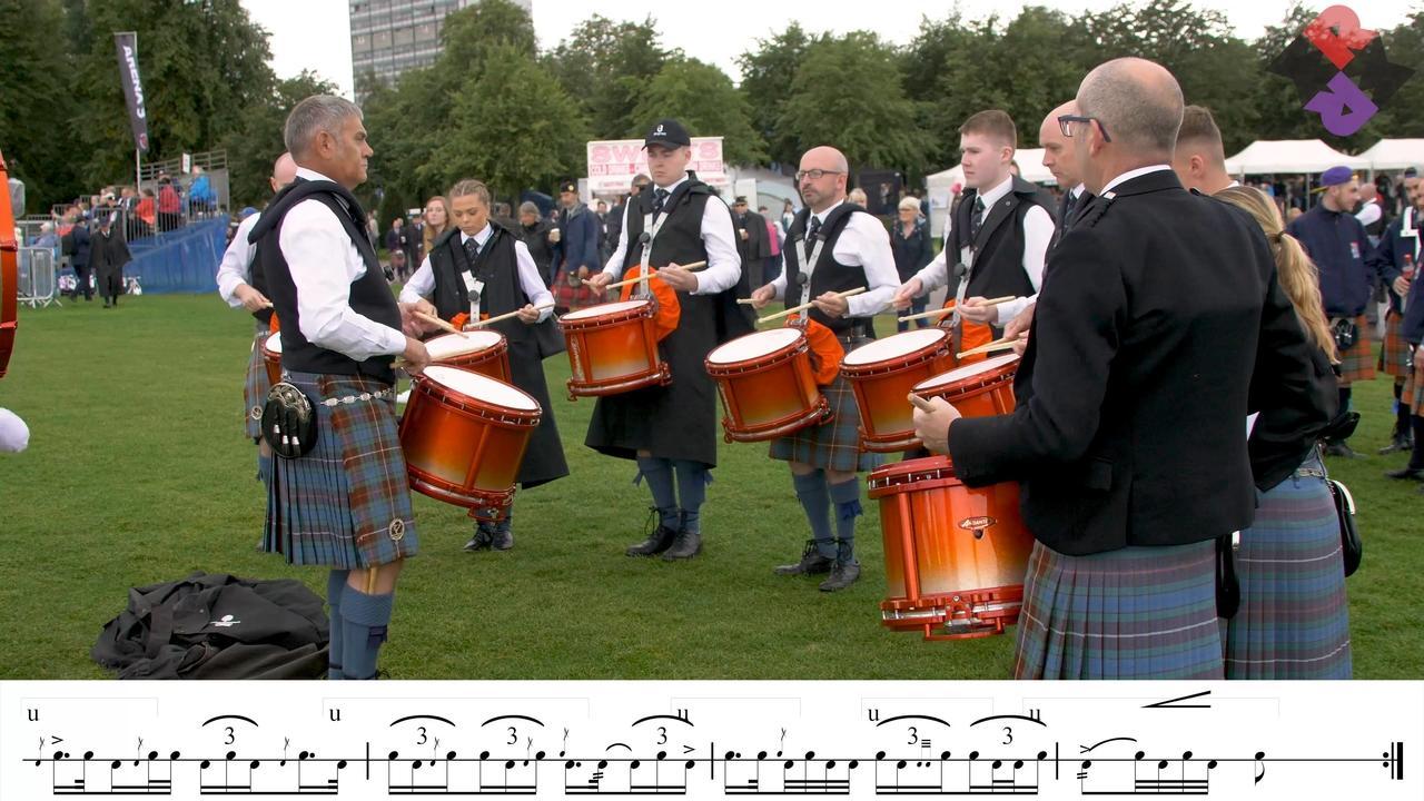 Boghall Drum Corps 2018 Worlds Finals MSR