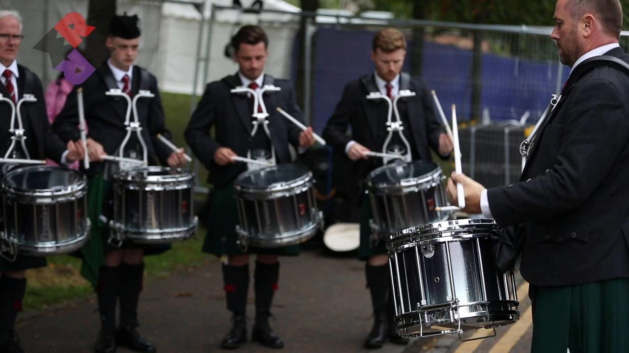 St. Laurence O'Toole Pipe Band Drum Corps MSR WPBC 2018