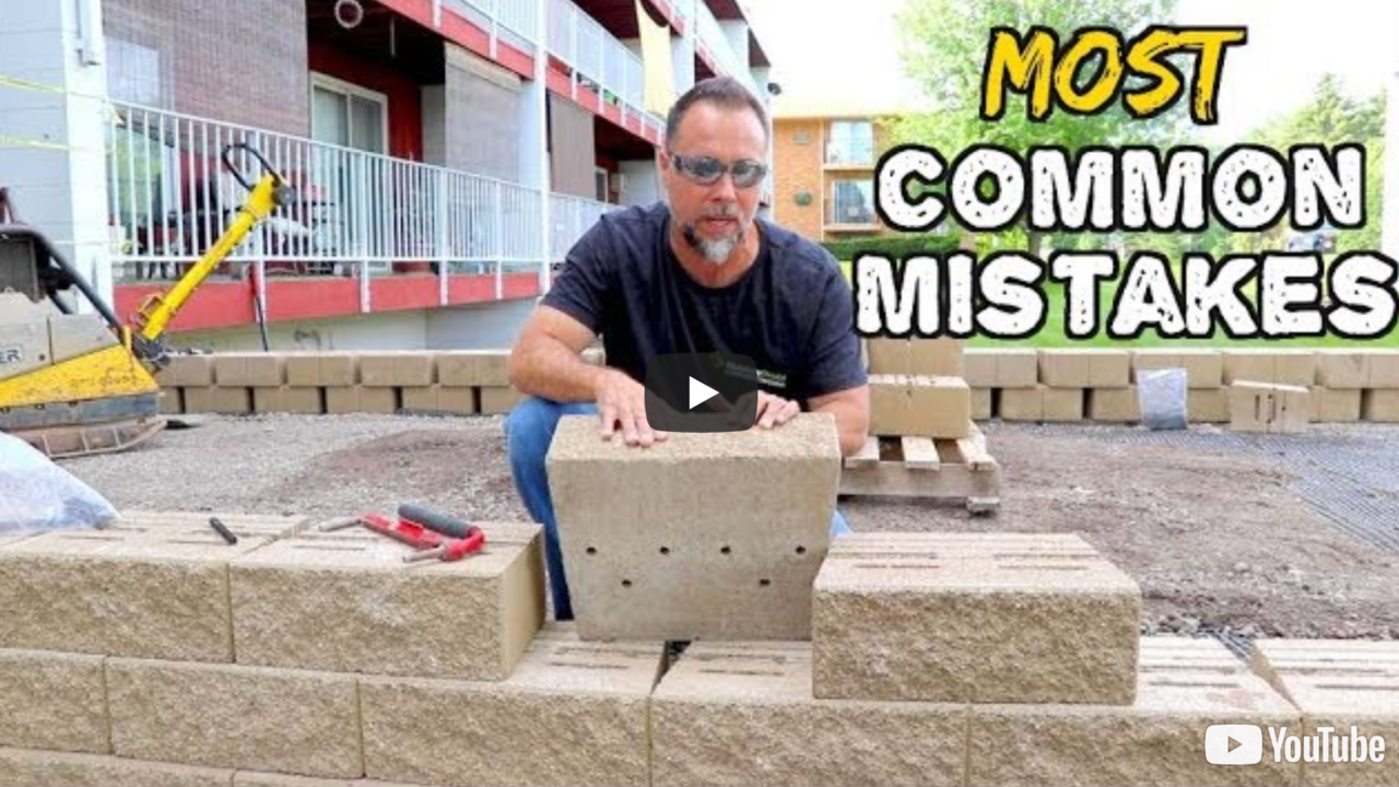 Common Retaining wall mistakes & how to AVOID THEM, bad designs, bad