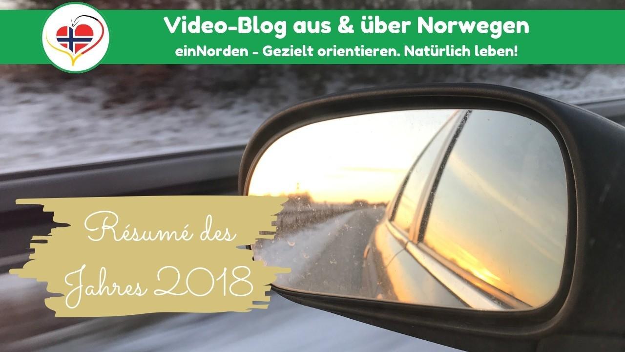 Rückblick Des Jahres 2018 In Norwegen