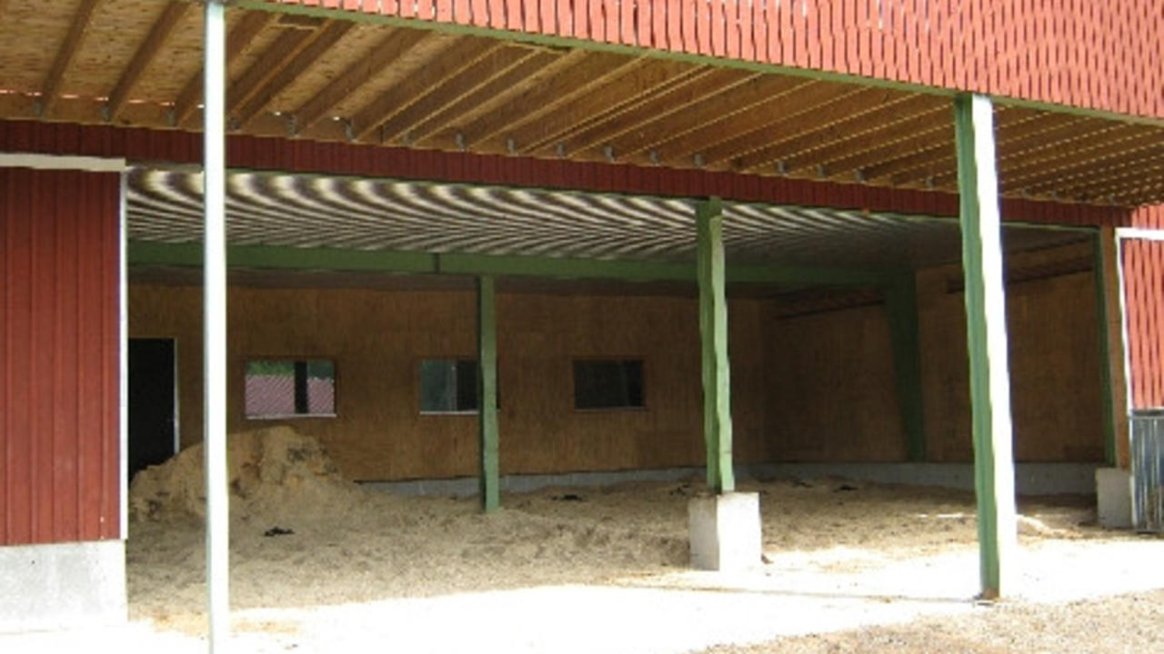 Equiculture shade/shelter