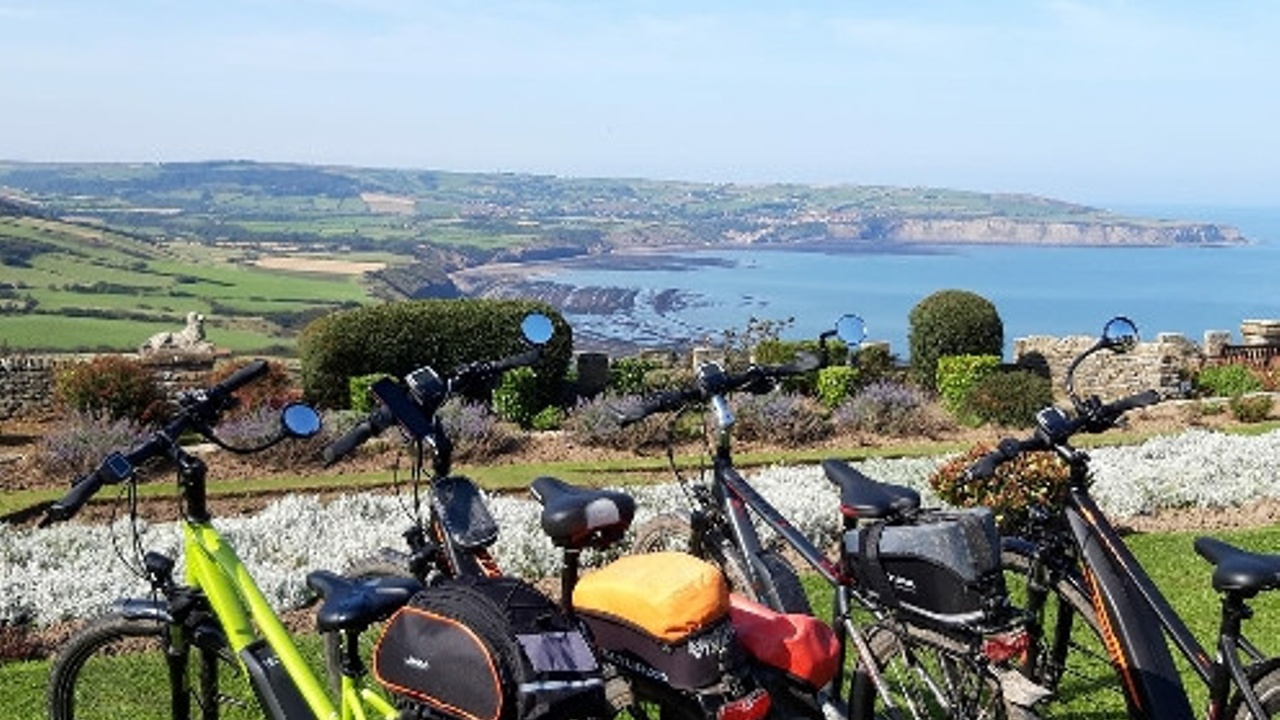 Ebikes at Whitby