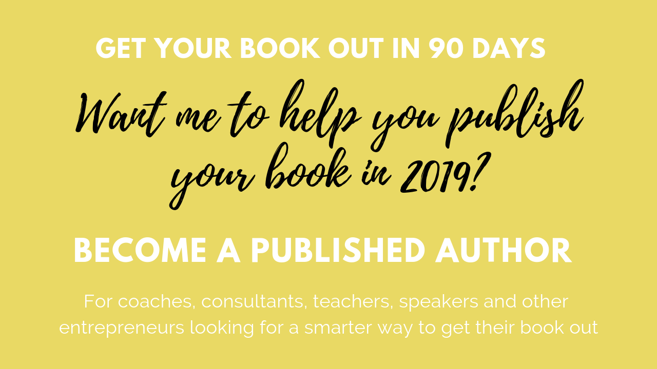 17086ea4e Anyone can publish a book. How about you publish yours in a few months?