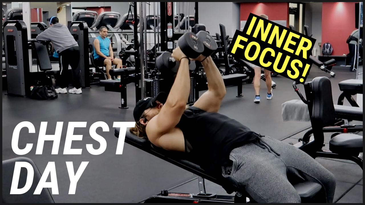 Chest Workout (INNER CHEST FOCUS)