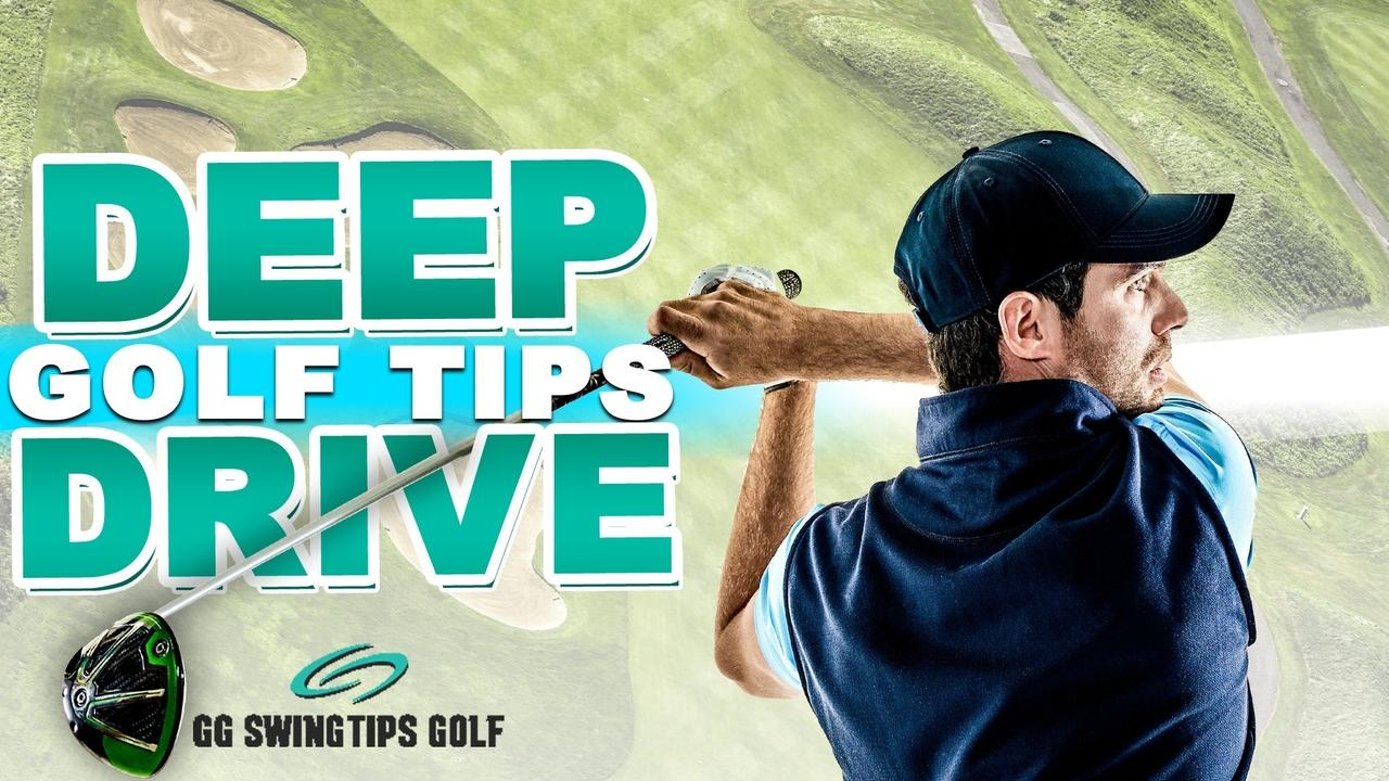 Drive The Ball Deep With Easy Golf Swing Drills