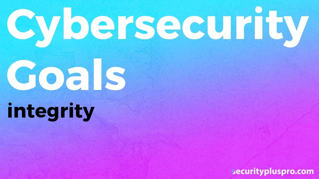 Security Training Online Data Integrity Basics Video Thumbnail