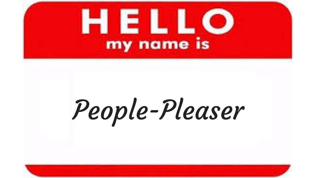 Overcoming people pleasing