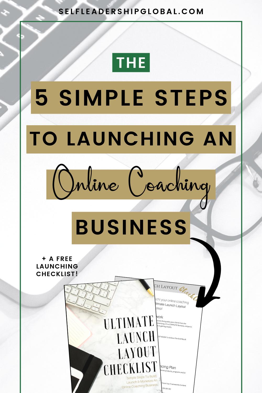 life coaching business model