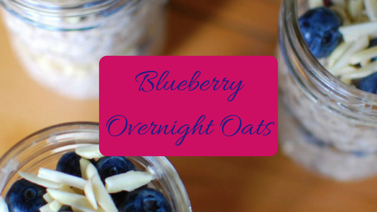 Recipe] Blueberry Overnight Oats