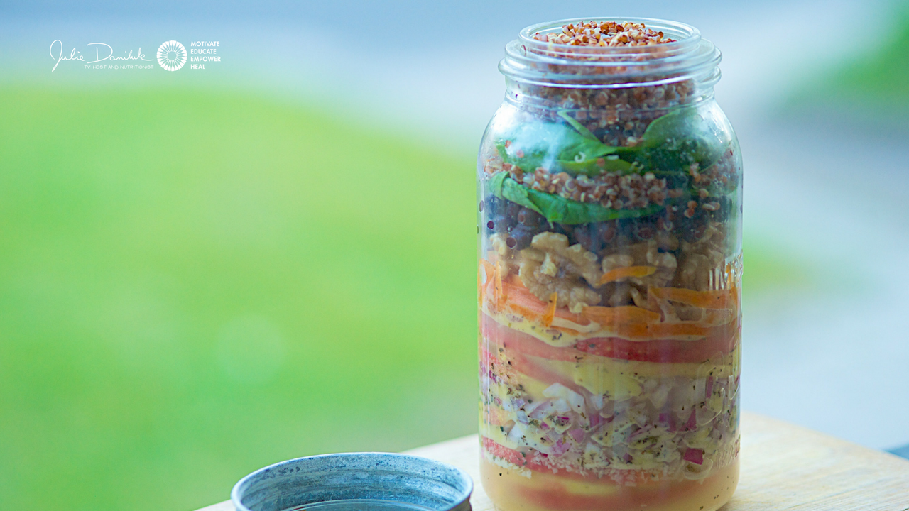 Healing Salad In A Jar Recipe Plus A Mouthwatering Roasted