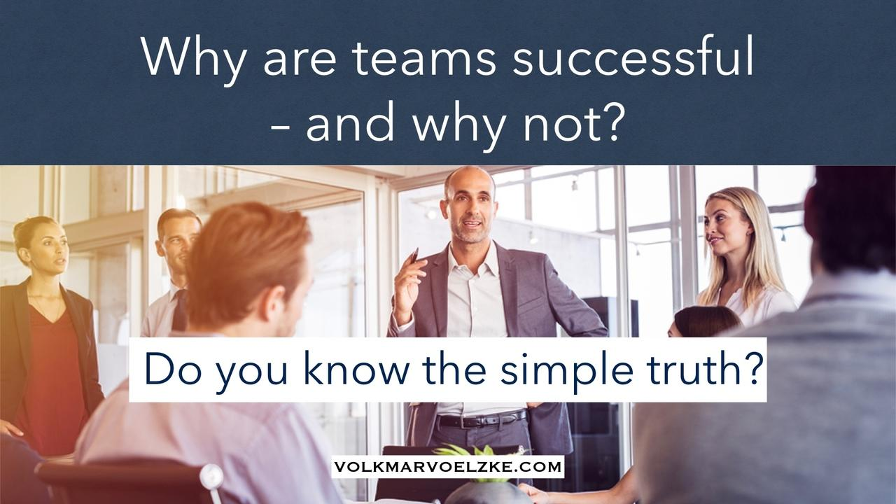 why are you successful