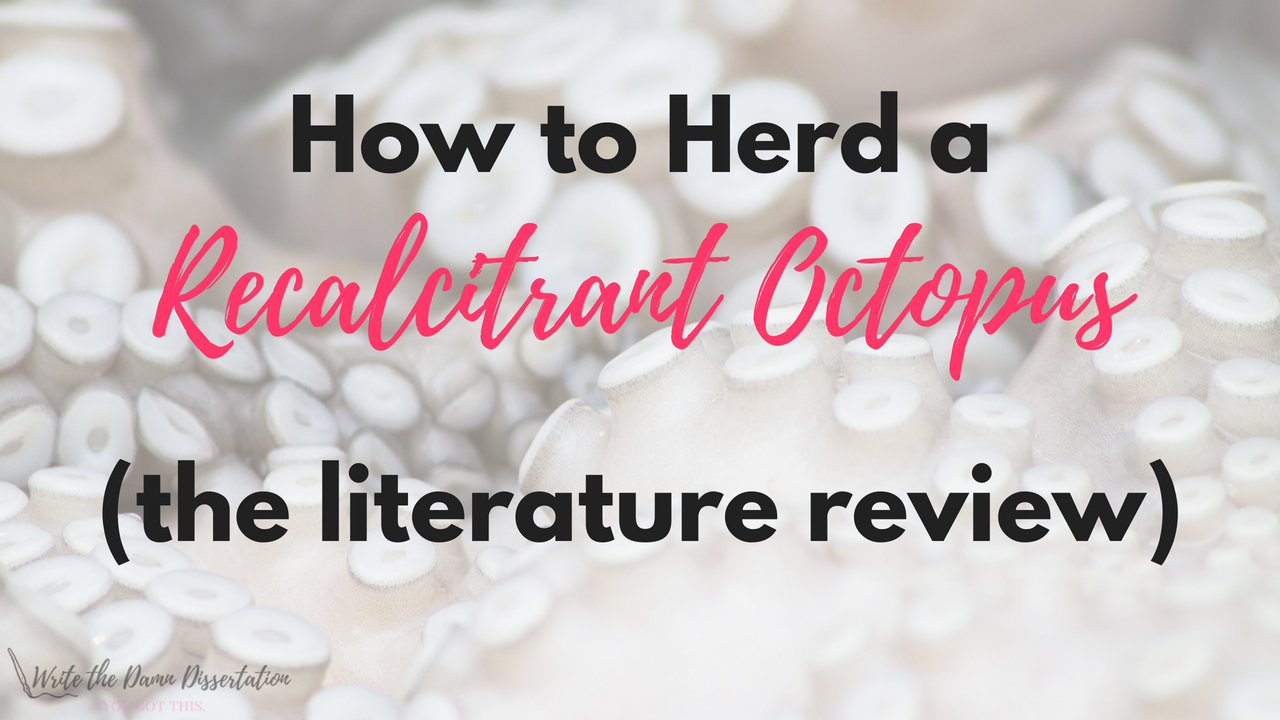 how to start a literature review dissertation