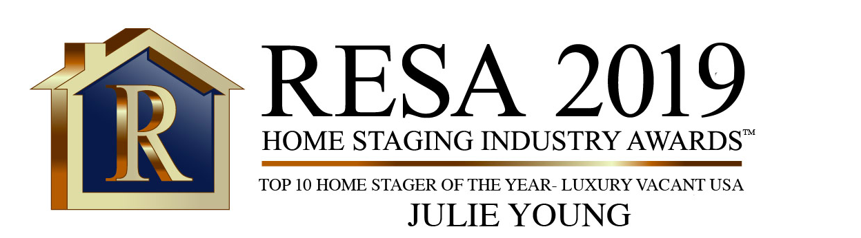 Julue Young top 10 home stager of the year luxury vacant