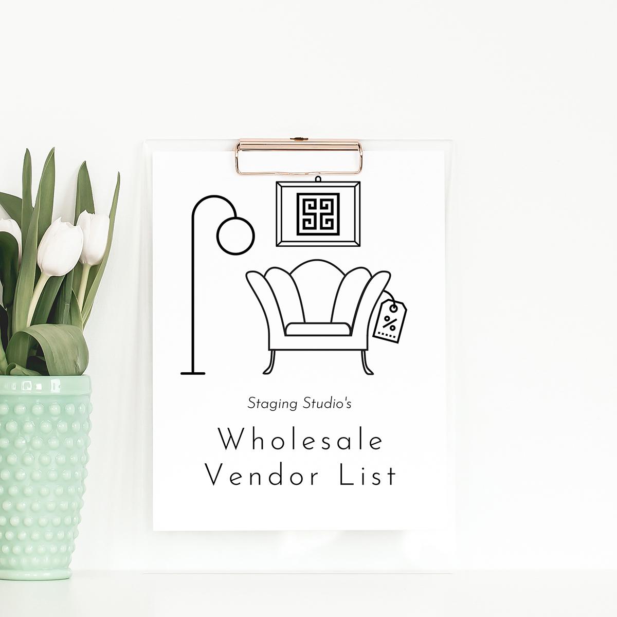 Home Staging Wholesale Vendor List Picture