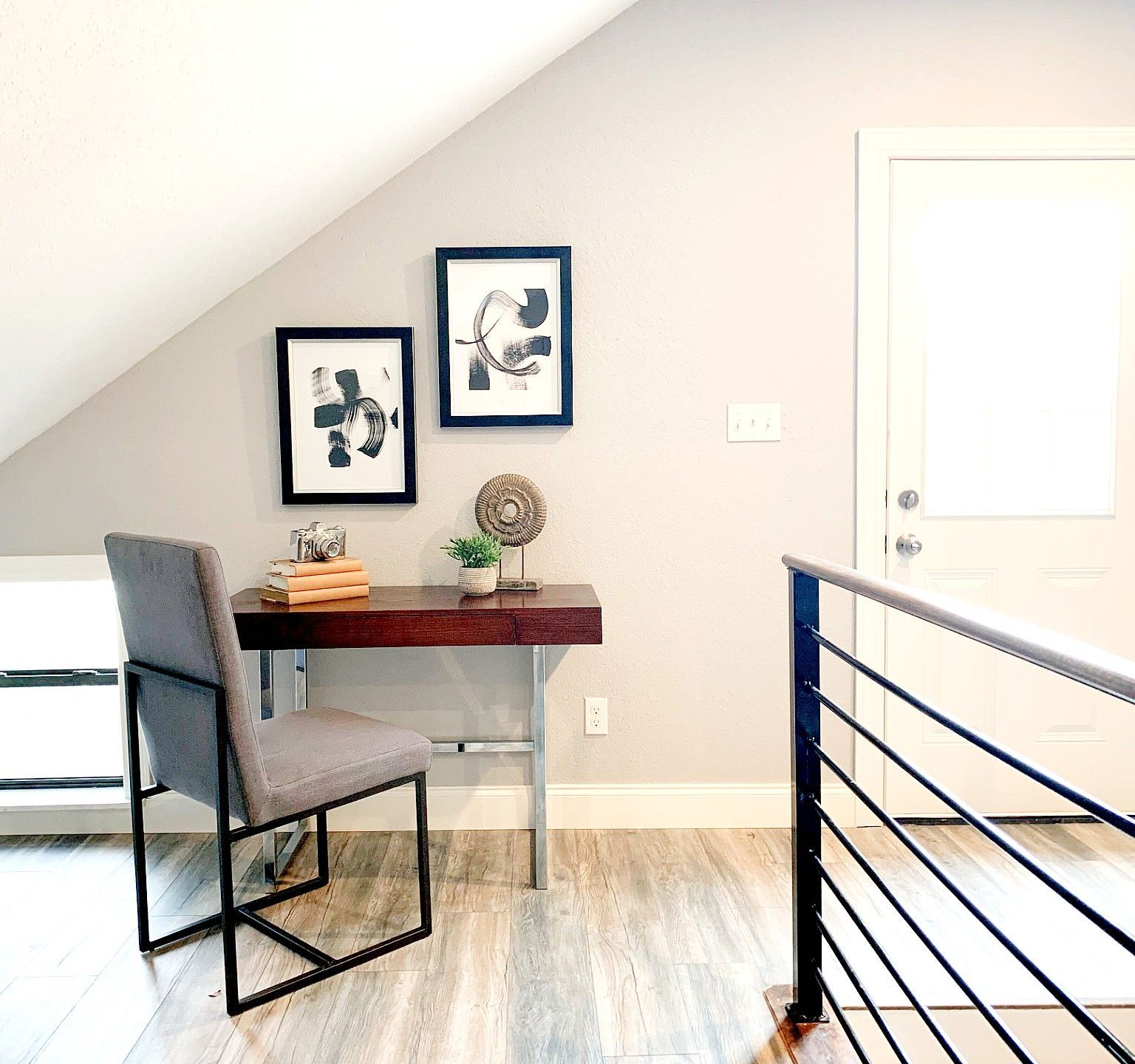 work from home staging studio loft space